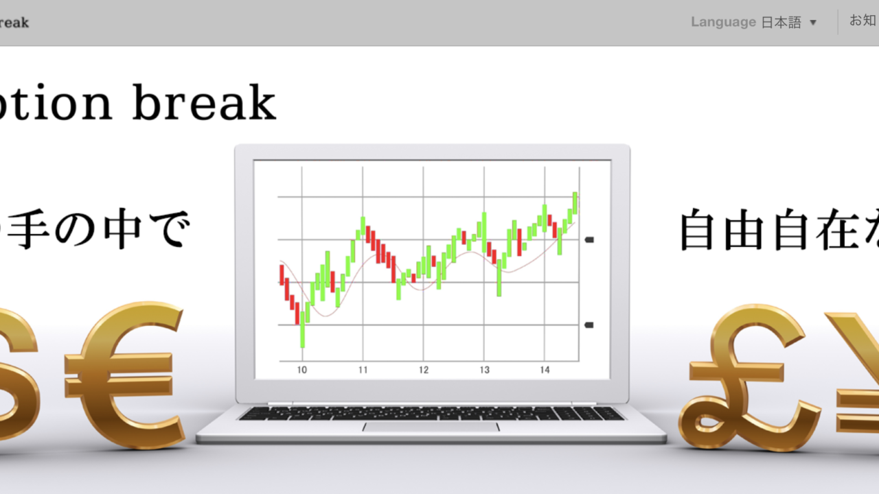 binary option break